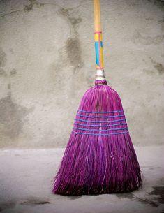 purple broom: would make me sweep everyday