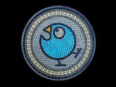 Bluebird stepping stone