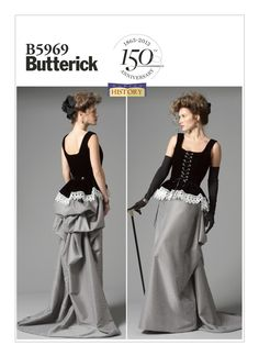 B5969 | Butterick Patterns - adept for Scarlet Witch?