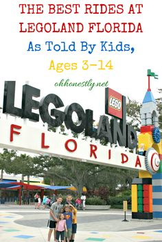 Taking a trip to Legoland Florida? Find out what the best rides are from the people who know best: Kids!