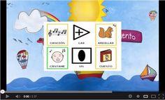 """""""Las Ardillas"""", canción infantil de CántameUnCuento, adaptada con pictogramas de ARASAAC."""