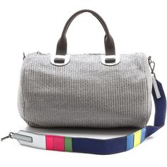 Meredith Wendell Large Duffel Bag ($495) ❤ liked on Polyvore