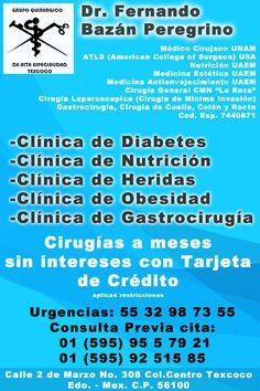 Cirujano y Gastroenterólogo en Texcoco. Grupo Quirúrgico de Alta Especialidad Texcoco. http://negocilibre.com/directorio/cirujano-y-gastroenterologo-en-texcoco/