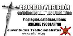 Colegios católicos libres #carlismo
