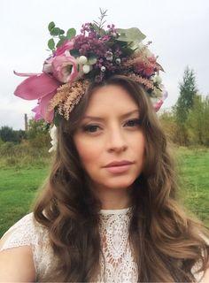Flower crown, autumn