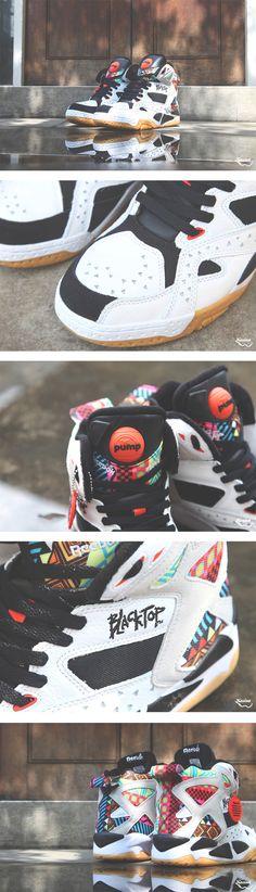 "Reebok Pump Blacktop Battleground ""Geometric Pattern"" - EU Kicks: Sneaker Magazine"