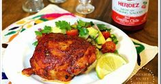 Chicken adobado, a recipe that can be prepared in the oven or over the grill. from the rotisserie style chicken to the chicken split open (butterfly style) and roasted over a charcoal grill. The chicken is coated with a delicious sauce made out of dried peppers, spices, and an acid agent (like vinegar, orange juice, or lime juice) and then baked.