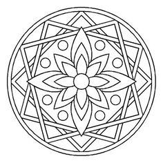 mandala coloring pages Mandala Design, Mandala Pattern, Zentangle Patterns, Mosaic Patterns, Mandala Art, Embroidery Patterns, Zentangles, Celtic Mandala, Mandala Coloring Pages