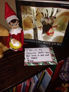 A Christmas BOOK delivery! + TONS of Elf on the Shelf IDEAS!