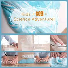 Learn how to make Glacier Goo—a type of Silly Putty that will demonstrate the movement of glaciers.