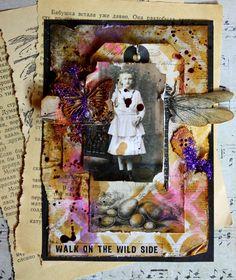Wild vintage card by Frau_Muller