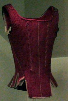 Síntesis de moda Regencia, cotilla, corse....C. 1750 Museo del Traje, CIPE, Madrid