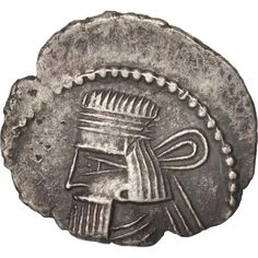 Unfortunately, this collectible item is no longer available ! ➽ Ask us to find it for you : Parthia (Kingdom of) Artaban III Drachm Silver. Parthian Empire, Oriental, Coins, Silver, Inspiration, Collection, Biblical Inspiration, Coining, Money