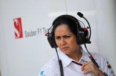 Monisha Kaltenborn, jefa de Sauber, habla del test de Mercedes y Pirelli - http://www.actualidadmotor.com/2013/06/08/monisha-kaltenborn-jefa-de-sauber-habla-del-test-de-mercedes-y-pirelli/