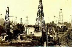 Evans City, PA.  This is the way things looked at the turn of the last century.  Oil derricks were every where.  A short oil boom.  Made money for many early families.