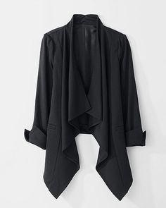 Cascade Open-Front Blazer
