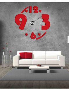Nástenné nalepovacie hodiny z plastu - JET Kód:  X0007- Modern wall clock Stav:  Nový produkt  Dostupnosť:  Skladom  Vyber si farbu podľa seba! Vyplň prázdne miesto a  zútulni si svoje bývanie novými hodinami. Veľké nástenné  hodiny sú jedinečnou dekoráciou Vášho interiéru. Prišiel čas na zmenu.