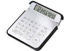 Taschenrechner Tri Action, silber/schwarz