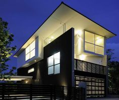 Stacked Concrete House Uses Space in Surprising Ways | Designs & Ideas on Dornob