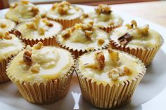 Jersey Girl, Texan Heart: Maple Walnut Cupcakes