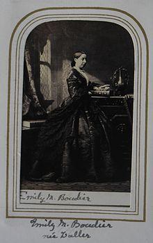 Camille Silvy, French portrait Photography  Miss Emily Walker, albumen print, 1862