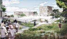 Vinge train station by Henning Larsen Architects