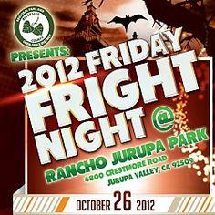 Fright Night at Rancho Jurupa Park Riverside, CA #Kids #Events