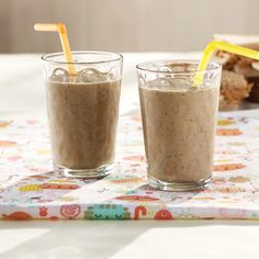 Hide veggies in a tasty way with our Elvis Smoothie, made with chocolate, banana, peanut butter and spinach. #HEBrecipe