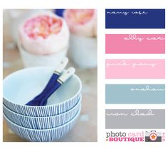 Loving navy and pink right now. Possibility for a brother and sister shared bedroom..