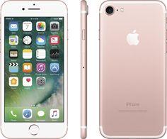Apple iPhone 7 Plus (GSM Unlocked) iOS Smartphone - Rose Gold (Certified Refurbished) Apple Iphone 6, Déverrouiller Iphone, Unlock Iphone, Coque Iphone, Iphone 32gb, Iphone Deals, Cell Phones In School, New Phones, Iphone 7 Plus 256gb