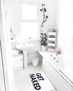 Get Naked Bath Mat | Urban Outfitters | Home & Gifts | Home Accessories | Bathroom via @leannelimwalker #UOEurope #UrbanOutfittersEU #UOHome