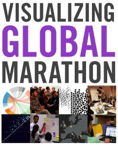 Visualizing Global Marathon #data #visualisation #infographic