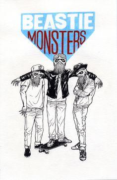 Beastie Monsters