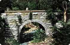 Stone Bridge, Wytheville, Virginia, 1909 (west end of Wytheville, off Route 11)