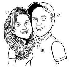 Resultado de imagem para desenhos de namorados