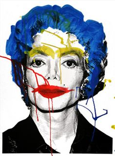 Michael Jackson, by Mr Brainwash.