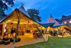 Looking for tipi wedding hire? Take a look at our range of tipi marquee tents that can be linked together to accommodate between 50 and 1000 wedding guests. Marquee Wedding, Tent Wedding, Outdoor Wedding Venues, Best Wedding Venues Uk, Wedding Ideas Uk, Wedding Locations, Marquee Hire, Wedding Hire, Wedding Images