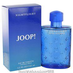Joop Nightflight Eau de Toilette EDT 4.2 oz by Joop! for Men NIB SEALED FREE SH #Joop