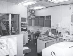 old radio room at GPD