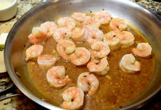 America's test kitchen shrimp scampi - poached in the sauce