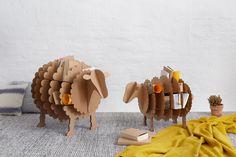 carton sheep for books