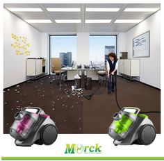 Never ever make your office so dirty like this.Don't worry,we have Morck Vacuum cleaner,to fix your problem so easily....