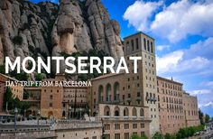 If you are looking to take a day trip from Barcelona, take a short drive or train to Montserrat to explore a gorgeous monastery and breathtaking views!