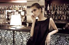 JESSICA CHOAY Z Dress . Photographer Vera Colombo . Model Iliana Chernakova . Location Hotel Milano Scala, Milan