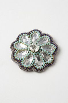 Mirrored Crystal Clip | Anthropologie.eu