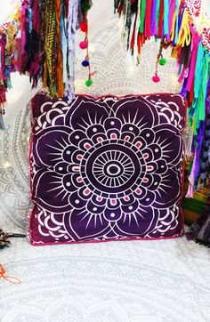 so mush of lovely Decorative Pillows at Multimate Coleection Cheap Room Decor, Floral Room, Cushions Online, Pink Lotus, Box Cushion, Pillow Box, Boho Decor, 17th Birthday, Birthday List