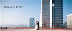 Los Angeles bride & groom, urban, modern, Turn Loose the Art