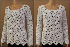 Long Sleeve Pullover Crochet Tutorial – Craft Addicts