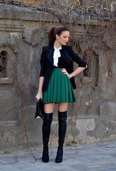 Small Budget Diva | Stivali sopra al ginocchio | guida pratica al trend di stagione | http://www.smallbudgetdiva.com