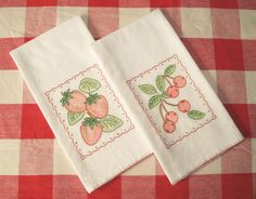 Tea Towel Set | These are the towels I sent for Wren's Nest … | Flickr